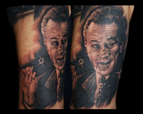 goodfellas tattoos | Deniro from Goodfellas – Tattoo Picture at CheckoutMyInk.com