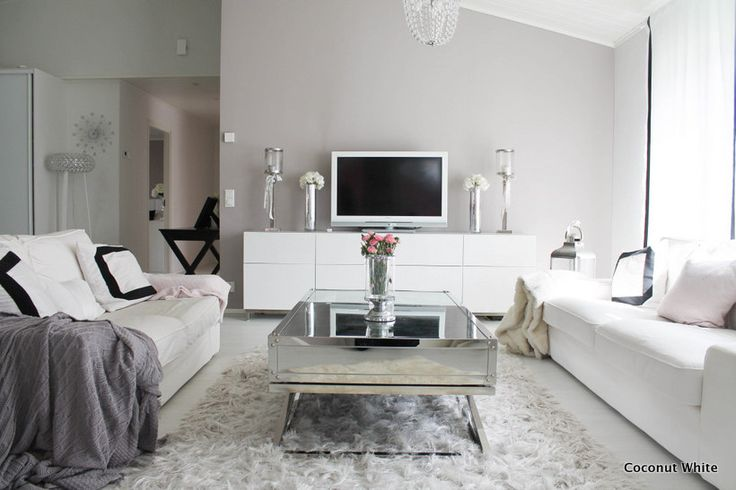 Coconut White: Kesää olohuoneessa ja viikonlopun kuulumisia