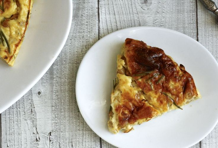 Frittata uit de oven #diner #lunch #vega