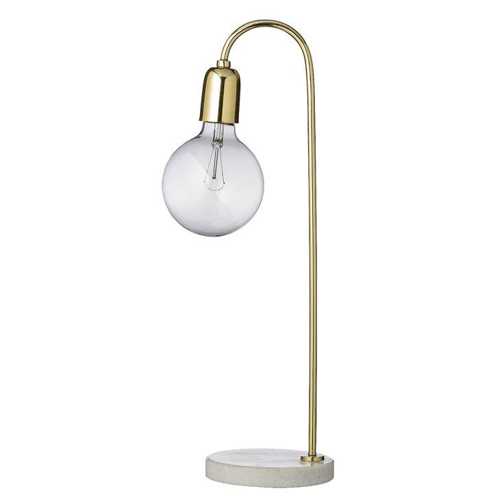 Bloomingville Lampa Marmor/mässing från Dekorette.se