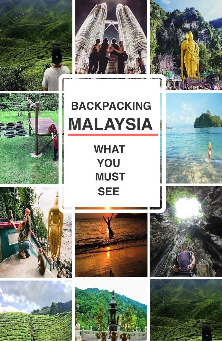 Backpacking MALAYSIA - What you MUST see