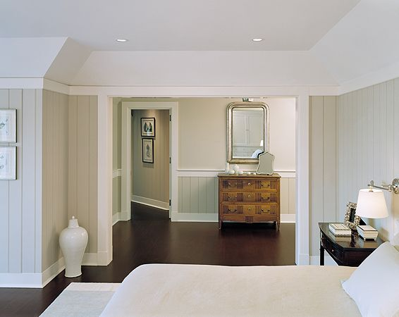 Paneling Painted Knotty Pine And Grey Walls On Pinterest