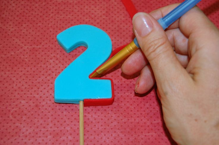 how to fondant number tutorial