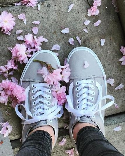 Forecast: floral showers with a chance of Drizzle Old Skools.