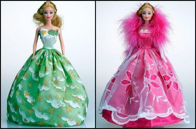 Шитьё кукольных платьев и костюмов