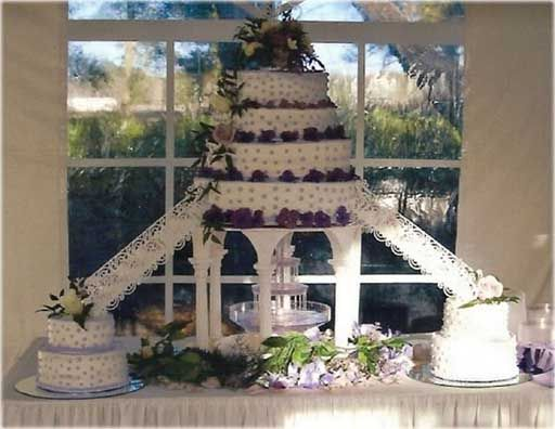Bolo de casamento, bolos de casamento com fontes e Pontes: bolos de casamento com fontes para o seu casamento luxuoso