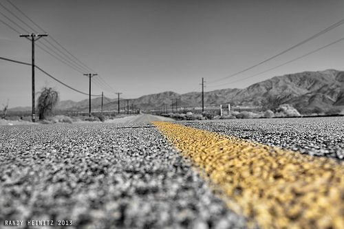 Never Ending Dillon Road - Palm Springs Photography
