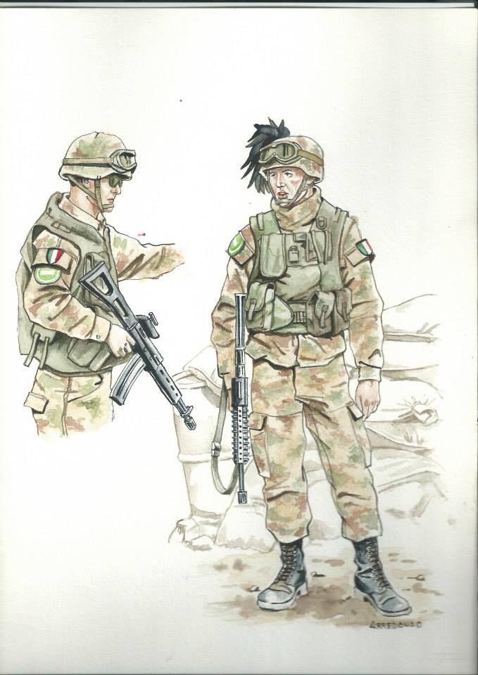 Esercito Italiano - Bersaglieri in Afghanistan