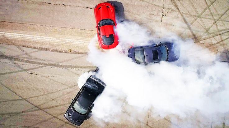 Dodge Hellcat-Viper-Hellcat Thrash Battle! - Roadkill Ep. 38