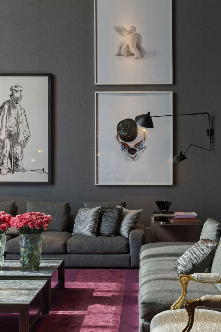 Decoration Gray Walls Living Room: 25+ Best Ideas About Dark Grey Couches On Pinterest