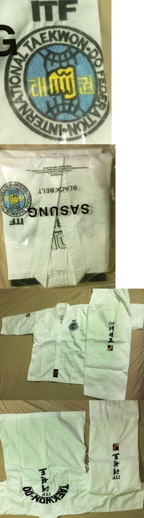 Other Combat Sport Clothing 73988: Sasung Itf Taekwondo Uniform For The World Championships -> BUY IT NOW ONLY: $85 on eBay!