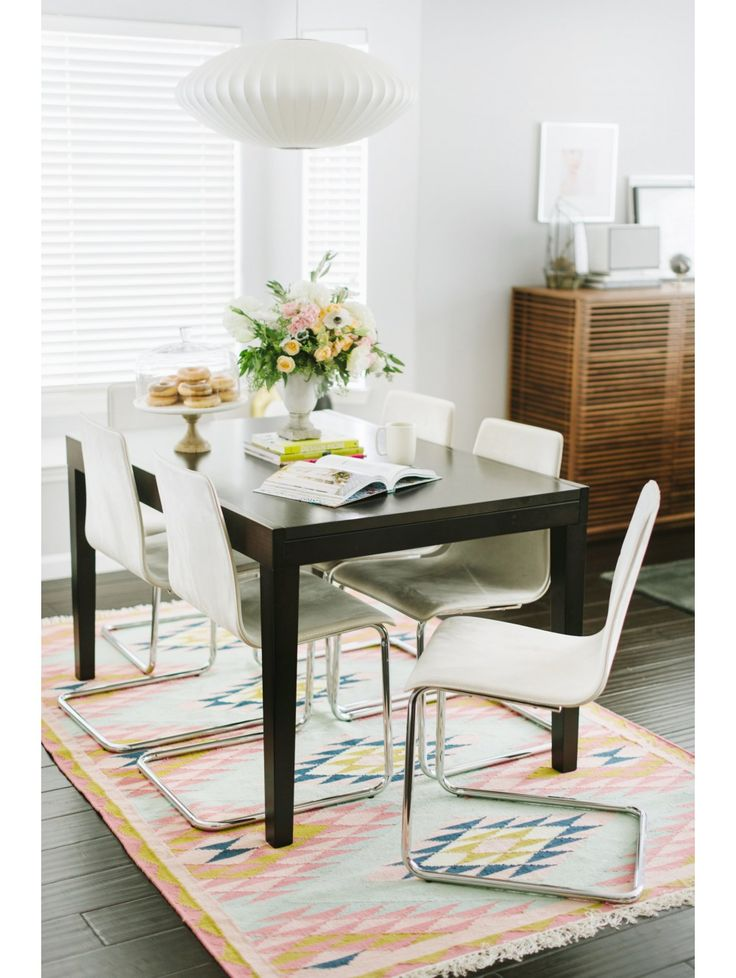 Elodie Rug By Glitter Guide Dining Room RugsDining TablesKitchen DiningDream RoomsStyle