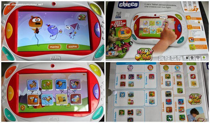 Chicco Happy Tab il tablet per i bimbi da 18 mesi a 6 anni e oltre http://www.damammaamamma.net/2014/12/idea-regalo-per-i-bimbi-chicco-happy-tab.html