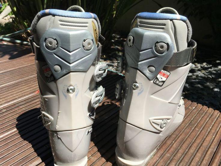 Chaussure de ski EDGE 9.8 L HP FIT-chaussure ski 39,5-Gris-FemmeChaussures peu utilisées achetées en 2014 état parfait très bon confortCouleur gris et bleu