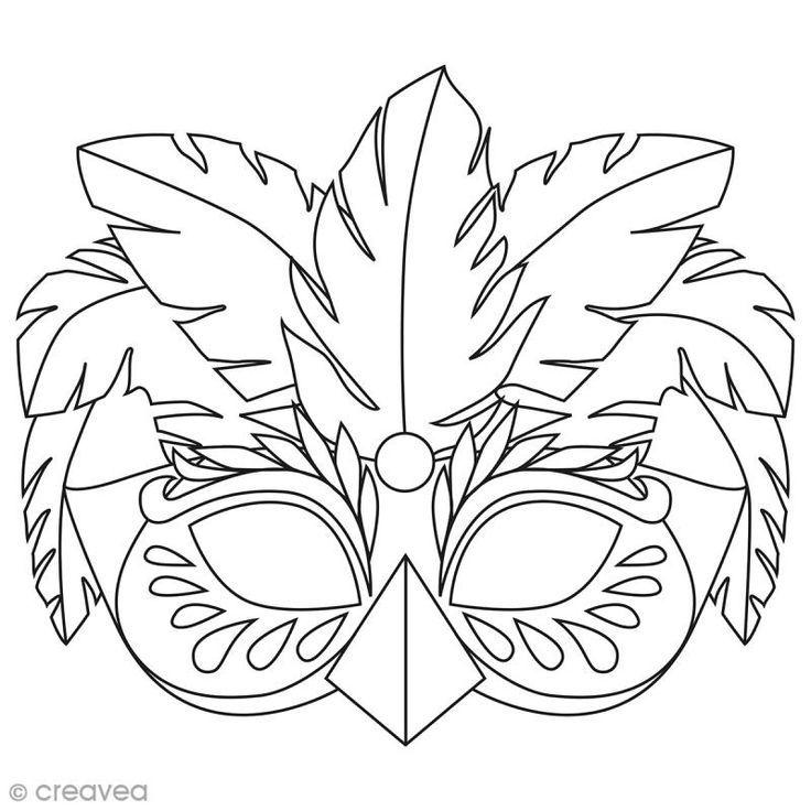 Masken Zum Ausmalen Und Schneiden Karneval In Rio 24 Seiten Karneval Coloring Mask Bird Masks Carnival Masks