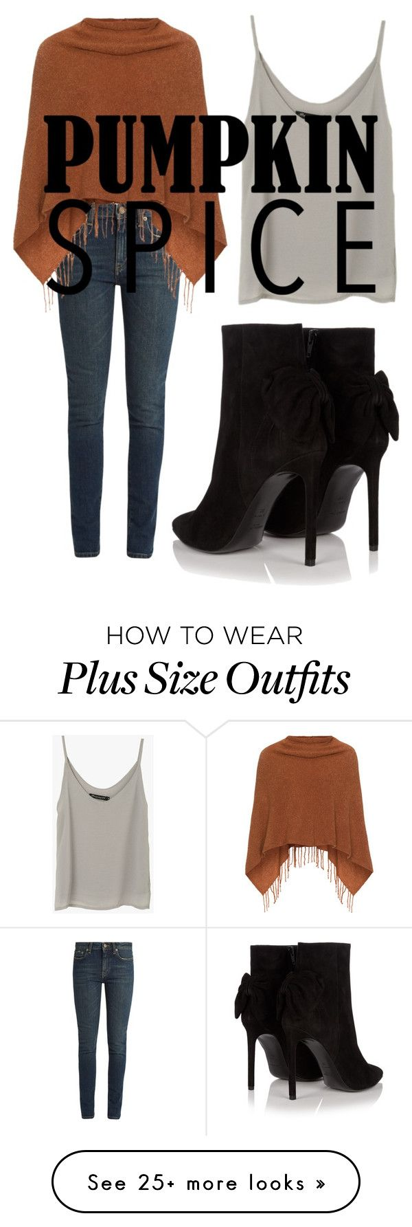 """basic"" by lizziexy on Polyvore featuring Yves Saint Laurent and Samoon"