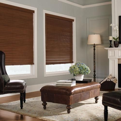 1000 ideas about dark wood blinds on pinterest wood blinds roman blinds and blinds for bathrooms Home decorators collection faux wood blinds installation