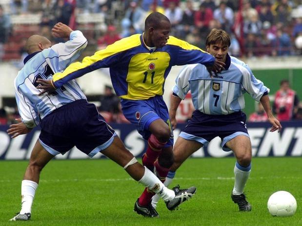 Faustino Asprilla contra Argentina
