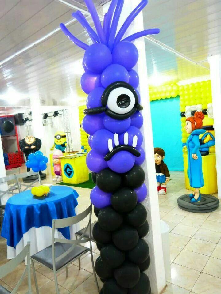 Best ideas about minion balloons on pinterest