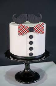 black and white mustache cake - Google Search