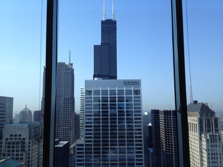Southern Views of the Willis Tower (formerly known as the Sears Tower)