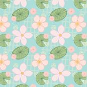 PURE ZEN - BLUE PASTEL by clairesalisburystudios, click to purchase fabric