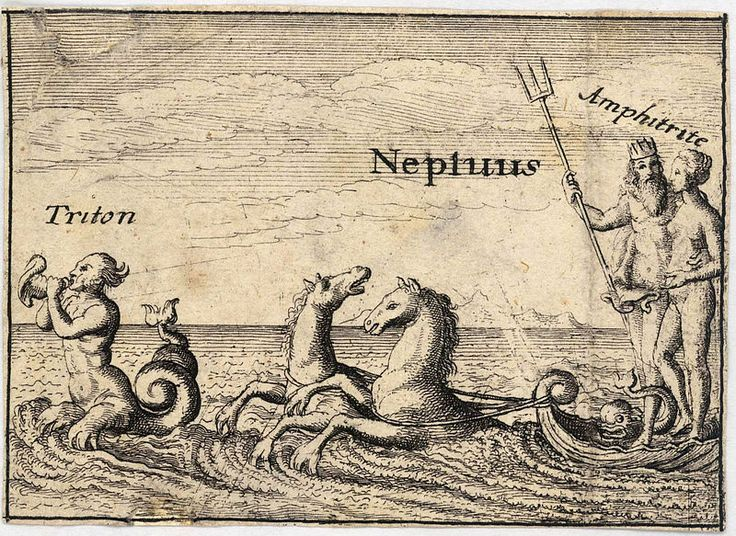 Neptuno y un tritón