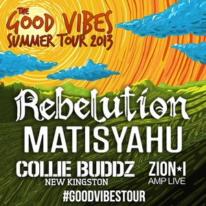 The Good Vibes Tour featuring Rebelution, Matisyahu, Collie Buddz, New Kingston, Zion*I - Tickets - Pier Six Pavilion - Baltimore, MD