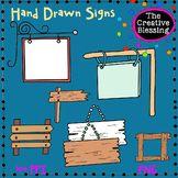 Hand Drawn Signs