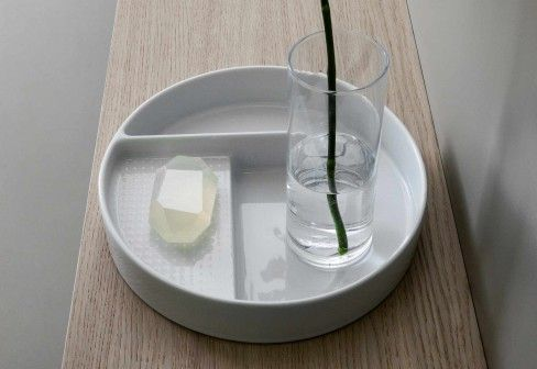 SaphirKeramik Val tray by Laufen - racks - design at STYLEPARK