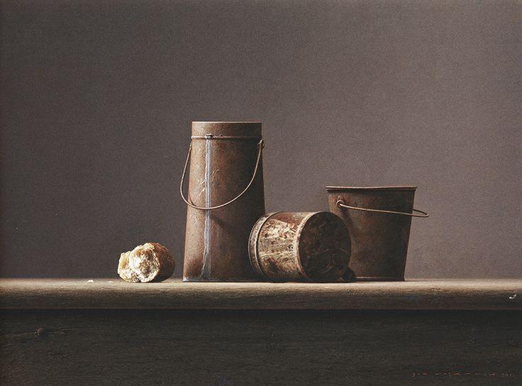 Roest en brood 2011 Olieverf / paneel  70x50cm
