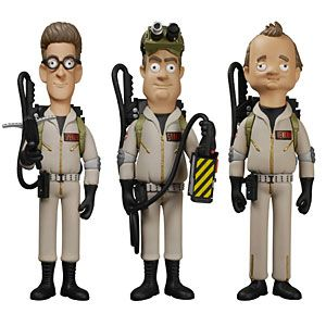 Vinyl Sugar has made tiny versions of your favorite protectors from the paranormal. Choose Dr. Peter Venkman, Dr. Egon Spengler, or Dr. Raymond Stantz.