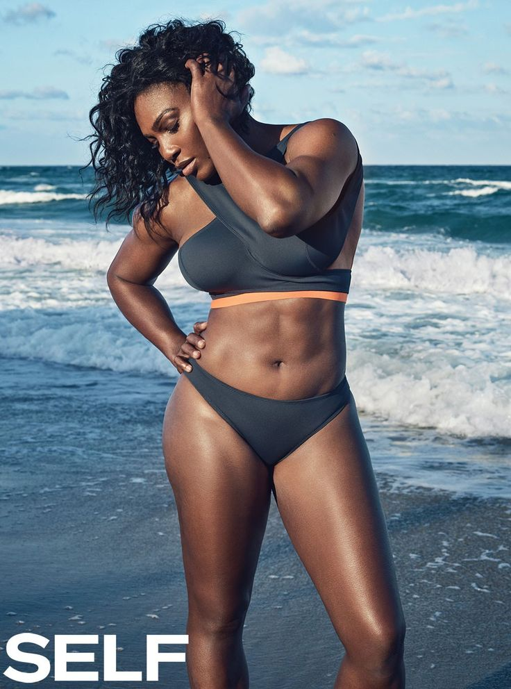 "Serena Williams in Self: ""I Love My Body, I Would Never Change Anything About It"" - COLOURES 