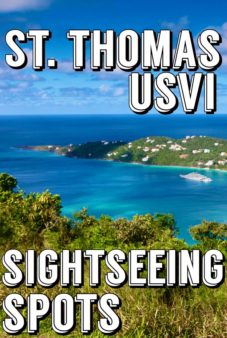 A Localu0027s Guide to St Thomas Sightseeing