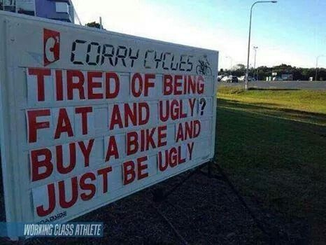 truth in advertising...