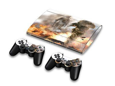 Skin PS3 Super Slim 4000 - Call of Duty: Modern Warfare 2