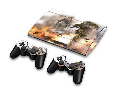 Skin PS3 Super Slim 4000 - Call of Duty: Modern Warfare 2