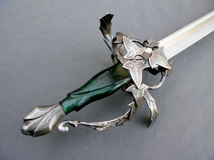 Christian Fletcher Custom Swords & Scabbards:  The Elven Saber