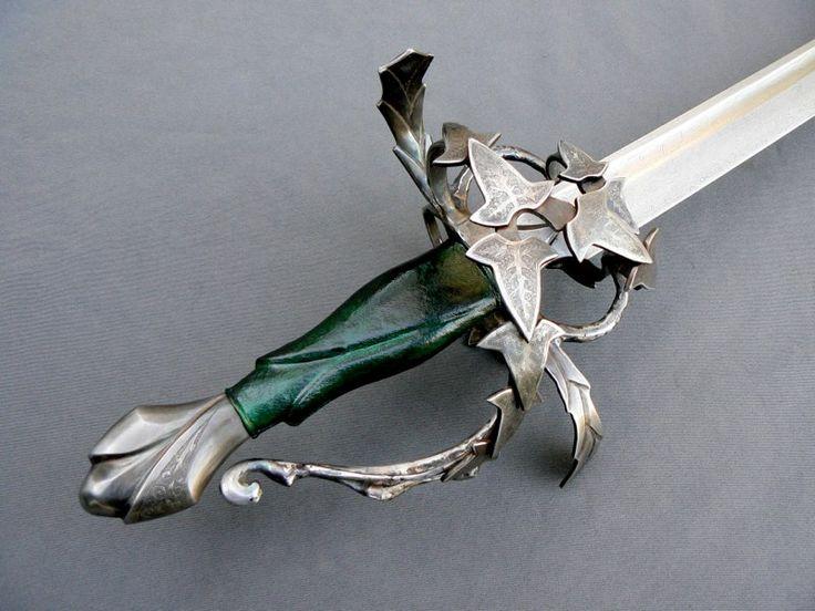 Christian Fletcher Custom Swords & Scabbards:  The Elven Saber