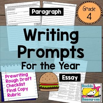 fun writing prompts 4th grade These 4th grade writing prompts provide students with plenty of inspiration for narrative, informative, opinion, and research essays additionally, a 4th grade writing curriculum should include short research projects the following writing prompts offer diverse forms of inspiration for every student.