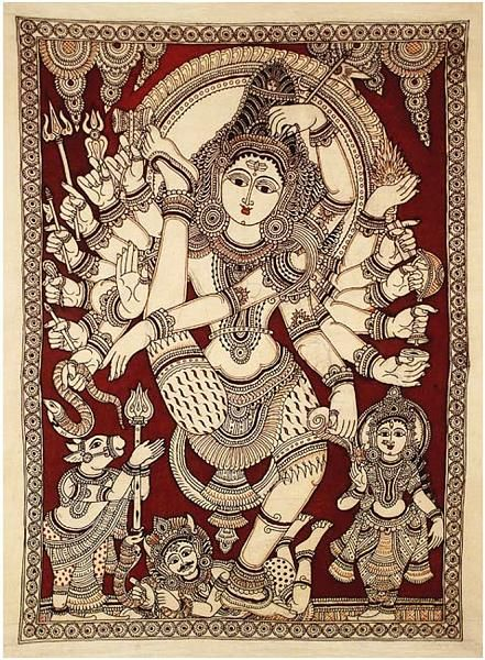Indian Painting Styles...Kalamkari Paintings (Andhra Pradesh)-nataraja-1-2-.jpg