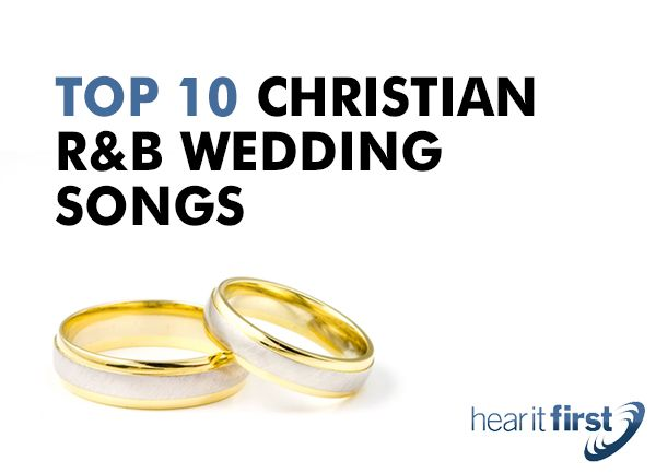 The right wedding songs brings memorable moments that couples can look back and smile for years. Christian weddings encourage the intimacy between newlyweds without worldly sensuality. Their focus i