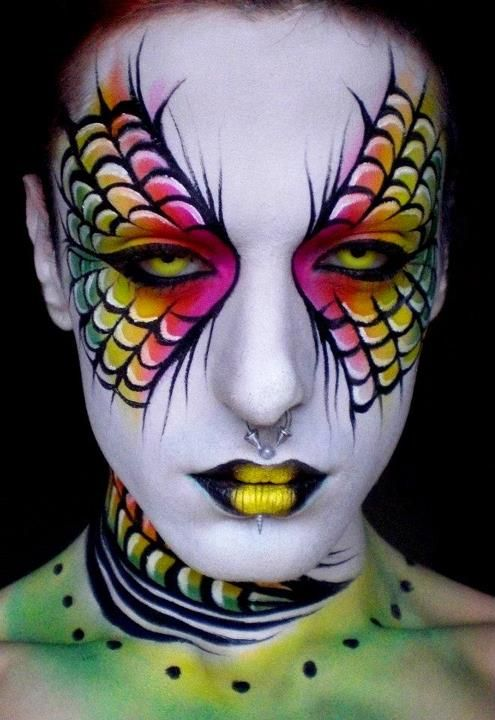 """""""Wings""""    Glitter and Decay   Category Archive   Body Paint"""