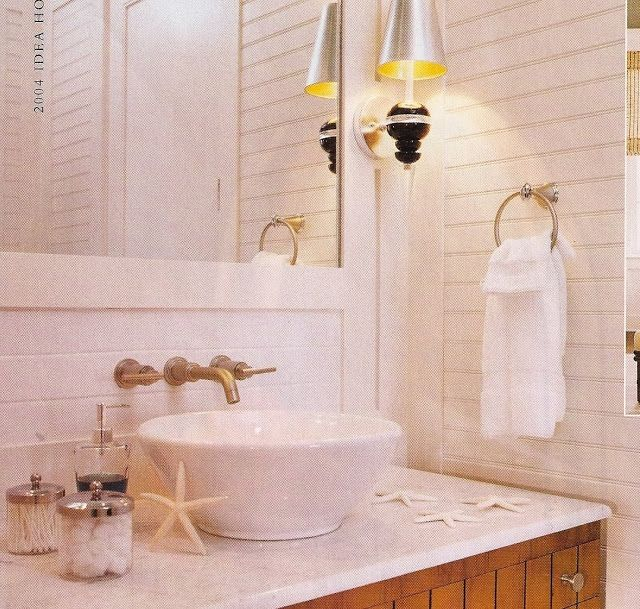Beadboard Over Tile In Bathroom: Horizontal Beadboard Bathroom - Google Search