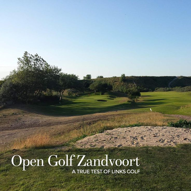 Great #golf course Open Golf Zandvoort. Challenging #links #course that requires all your short game skills. #playbettergolf #love #golf #photooftheday