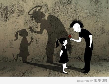 Il pregiudizio non è una bella cosa... A volte si deve andare oltre a ciò che si vede.