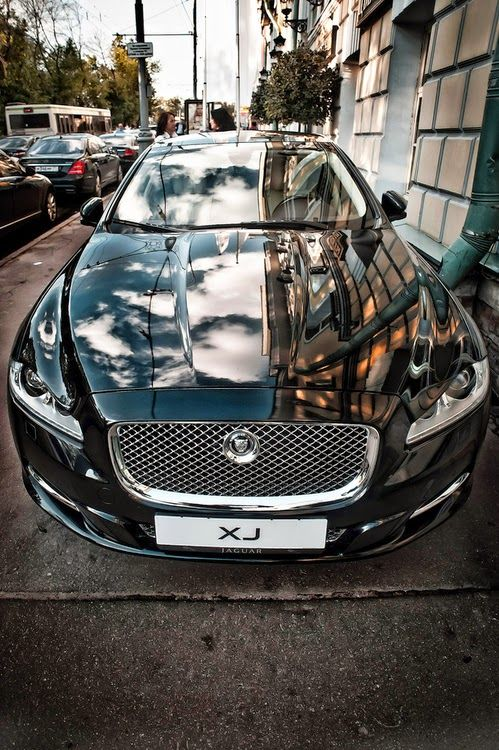 Jaguar XJL grill
