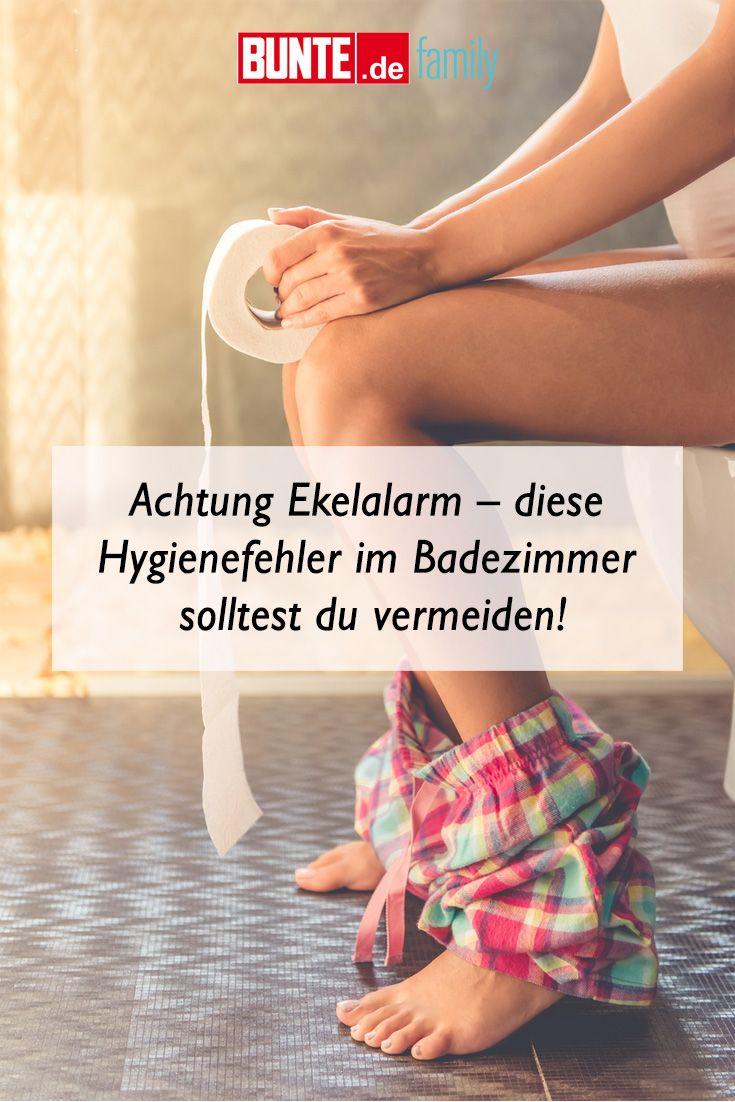 Haushaltstipps Achtung Ekelalarm Diese Hygienefehler Im Badezimmer Solltest Du Vermeiden Haushaltstipps Haushalts Tipps Heizung Reinigen