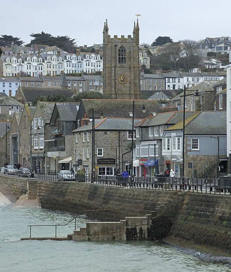 Town Centre, St Ives,Cornwall. This is a beautiful town! Love it!!!