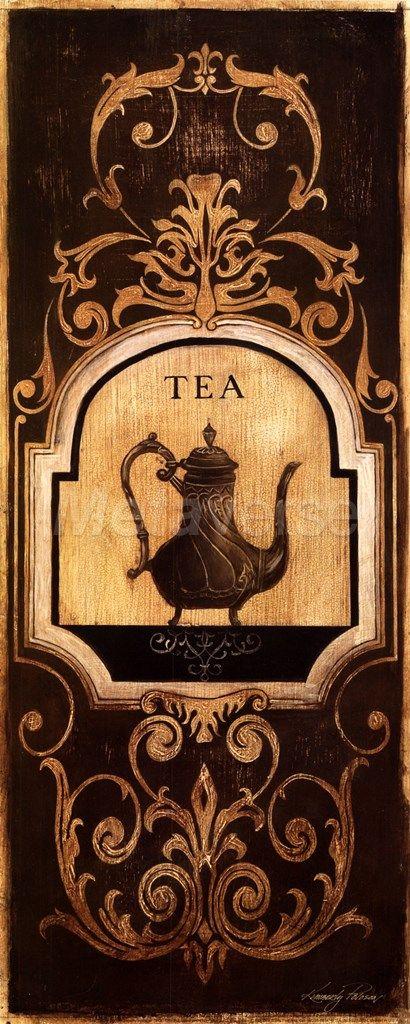 Tea Time I Fine-Art Print by Kimberly Poloson at CoffeeDecor.com